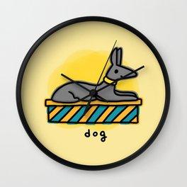 Anubis the dog Wall Clock