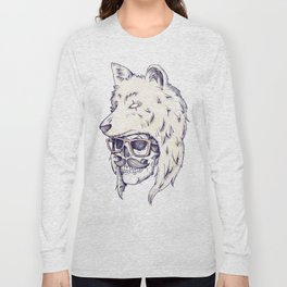 WOLF HAT Long Sleeve T-shirt