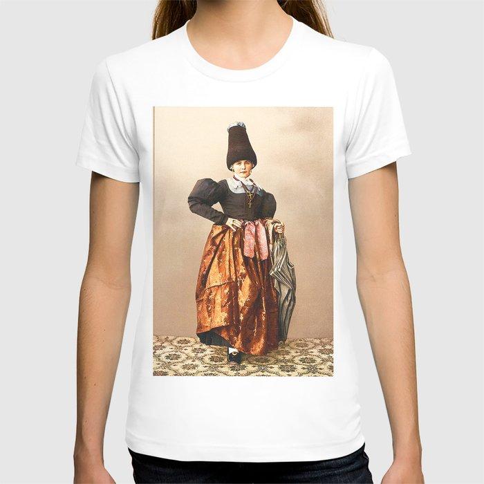 European peasant T-shirt