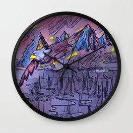 """""""Lake Flight"""" Wall Clock"""