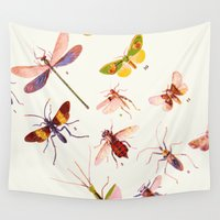 alisa burke Wall Tapestries featuring Beautiful Creatures by 83 Oranges™