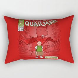 Quailman No More! Rectangular Pillow