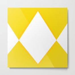 Mighty Morphin - Yellow Rangers Metal Print