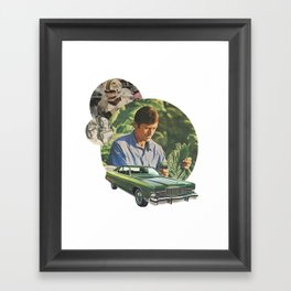 Mens series: the juggle Framed Art Print