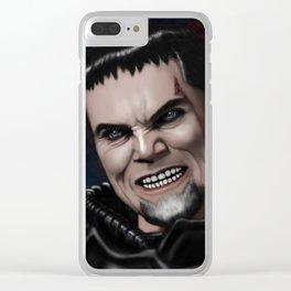 Dru-Zod Clear iPhone Case