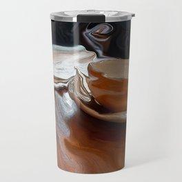 Coffee Shop Newspaper Travel Mug