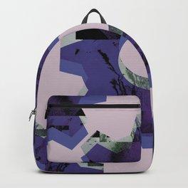 IMPROBABLE GREASE REEL blue Backpack