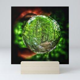 Nature In Your Hands Mini Art Print