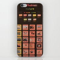 periodic table iPhone & iPod Skins featuring Periodic Table of Phobias by Darkest Devotion