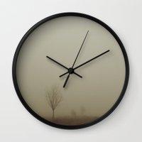 england Wall Clocks featuring Dartmoor, England by Ukridge