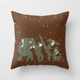 The children are revolting Throw Pillow