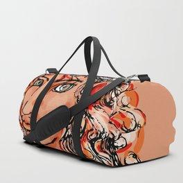 Female elf profile 1d Duffle Bag