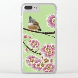 Crape myrtle Clear iPhone Case
