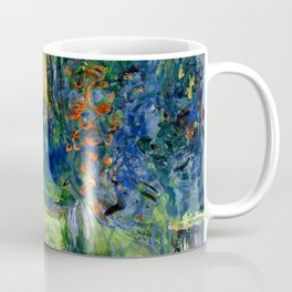 """Claude Monet """"Water lily pond at Giverny"""", 1919 Coffee Mug"""
