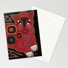 Gato Rojo Stationery Cards