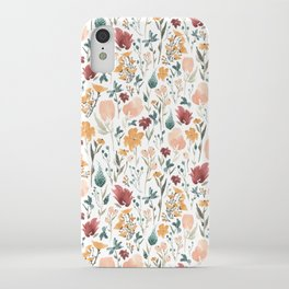 Deep Florals iPhone Case