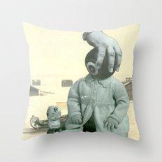 Baby Bowl Throw Pillow