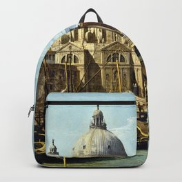 Canaletto Bernardo Bellotto  -  The Entrance To The Grand Canal  Venice Backpack