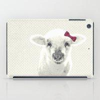lamb iPad Cases featuring LAMB by SUNLIGHT STUDIOS  Monika Strigel