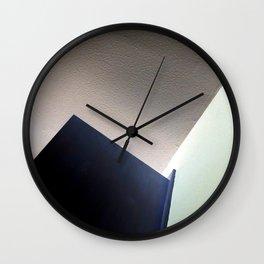 Door and walls abstract Wall Clock