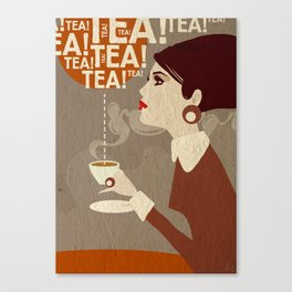 Tea. Canvas Print