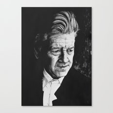 Portrait of David Lynch Canvas Print