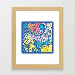 Doodle 1 Framed Art Print