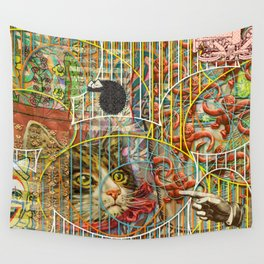 Prioritizing the Preservation of Favoured Struggles: Our Mesmerizing Bucket of Worms Wall Tapestry
