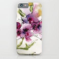wild flowers Slim Case iPhone 6