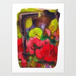 Broken Petals  Art Print