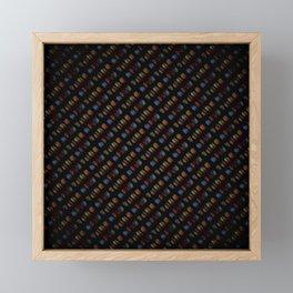 Curious Code Framed Mini Art Print