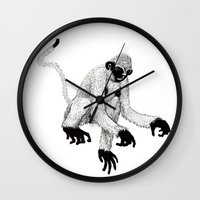 ape Wall Clocks featuring ape by rectify