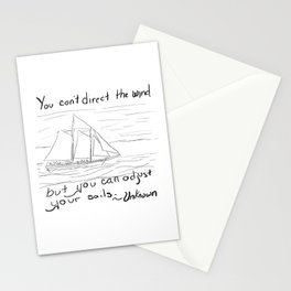 Adjust Your Sails Stationery Cards