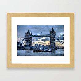 Tower Bridge Again Framed Art Print