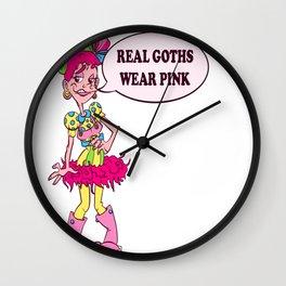 Real Goths Wall Clock