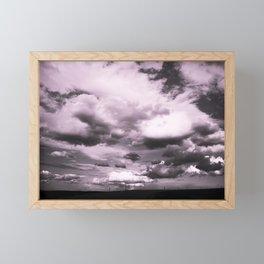 Cloudy Sky #decor #society6 Framed Mini Art Print