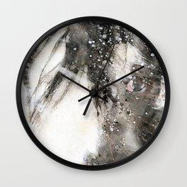 Snowhorse Wall Clock
