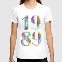 1989 T-shirts featuring 1989 by Christina Guo