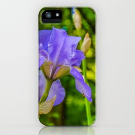 the lonely wild flower iPhone Case