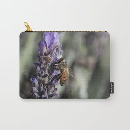 Lavender with Bee Carry-All Pouch