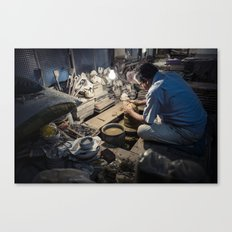 Master Potter Canvas Print