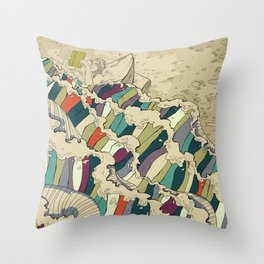Good Book Throw Pillow