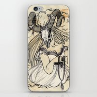 aries iPhone & iPod Skins featuring Aries by Anna Rosenfeld