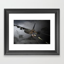 AC-130 Spooky  Gunship Framed Art Print