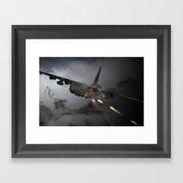 AC-130 Spooky  Gunship Framed Art Print