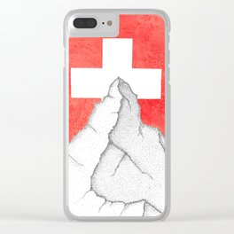 Matterhorn Clear iPhone Case