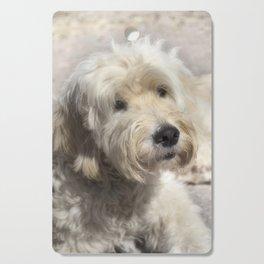 Dog Goldendoodle Golden Doodle Cutting Board