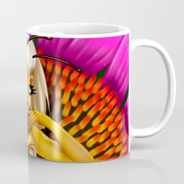 Buzzy Echinacea Coffee Mug