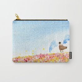 The Angel and the Rose fields Carry-All Pouch