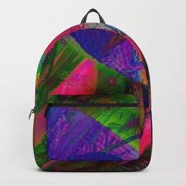 Abstract dragonfly Backpack